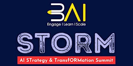 3AI STORM: AI STrategy & TransfORMation Summit tickets
