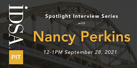 Interview with Nancy Perkins tickets