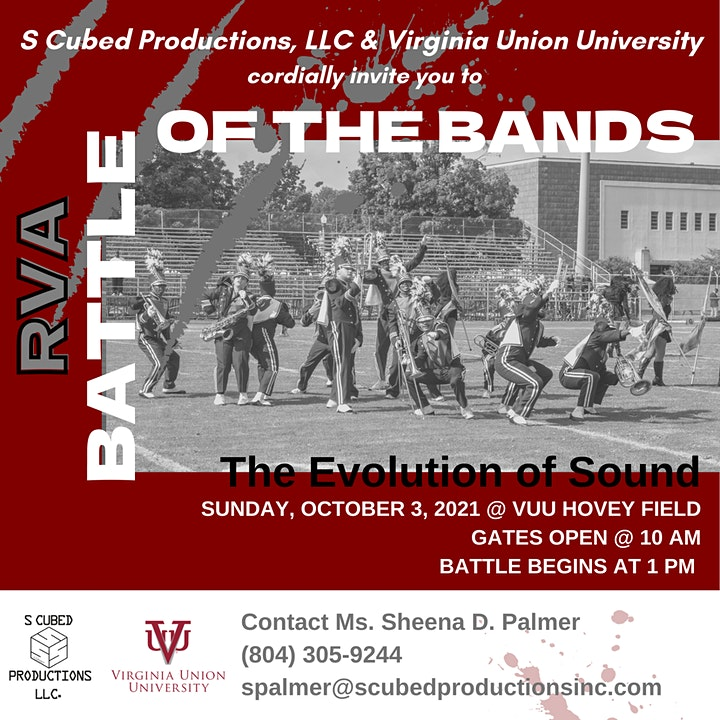 2021 Battle of the Bands RVA @ VUU Hovey Field image