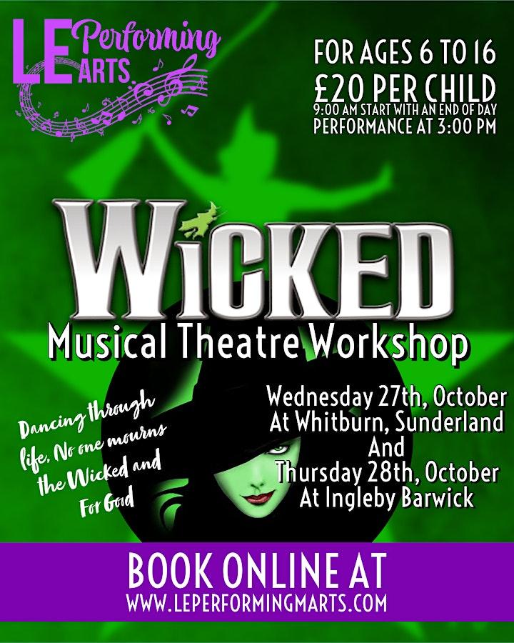 Wicked Workshop Whitburn image