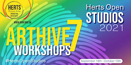 ArtHive7 Workshops - INTRODUCTION TO NEUROGRAPHIC ART tickets