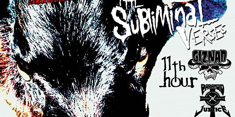 FREE SHOW with Slipknot Tribute • The Subliminal Verses tickets