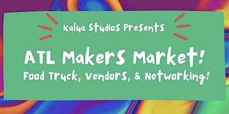 Atlanta Makers Market! Food Truck, Vendors, Networking | Kalua Studios tickets