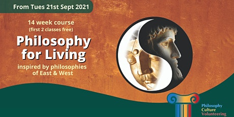 COURSE: PHILOSOPHY FOR LIVING tickets