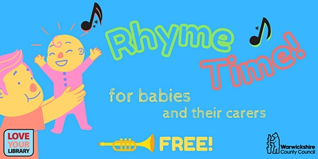 Rhyme Time BABIES at Atherstone Library (limited numbers) tickets