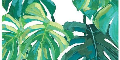 Paint and Sip at Home  'Cheese Plant' tickets