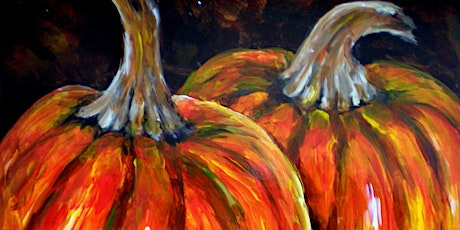 Paint and Sip at Home  'Pumpkins' tickets