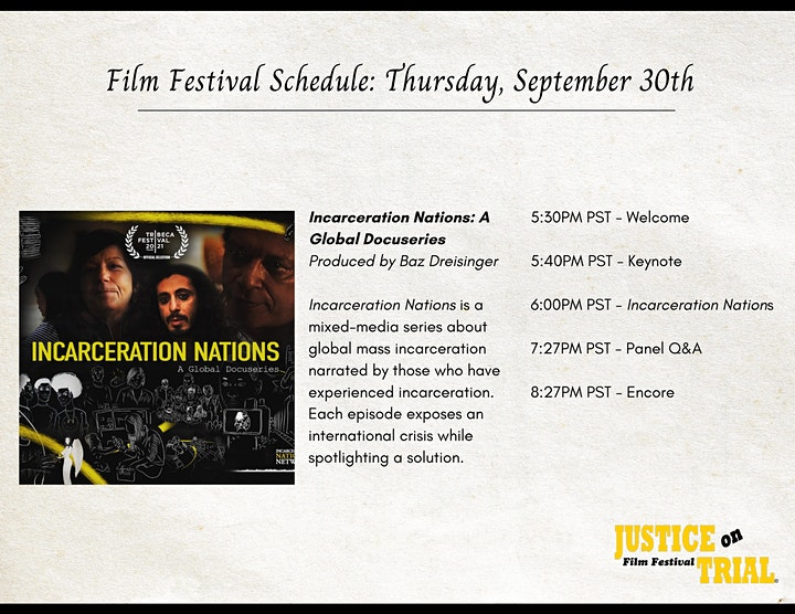Justice on Trial Film Festival 2021 image