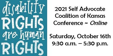2021 SACK Online Conference  - Disability Rights are Human Rights entradas