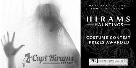 HIRAMS HAUNTINGS tickets