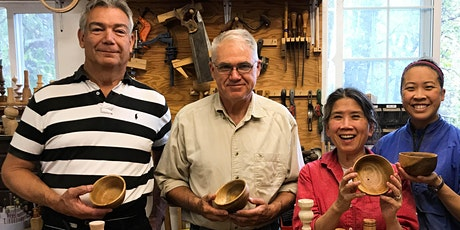 **NEW** Intro to Woodturning with Bill -- starting 9/30/2021 tickets