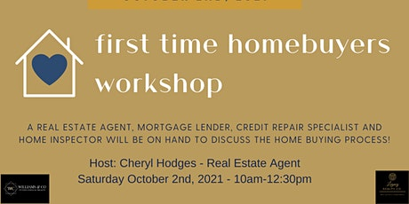 *VIRTUAL* First Time Homebuyers workshop tickets