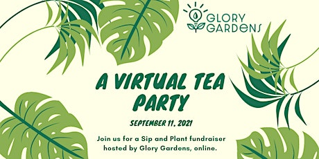 Plant For A Purpose -- A Sip and Plant Tea Party tickets