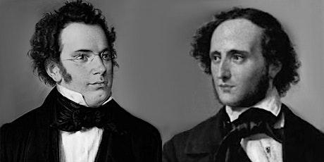 Audições Comentadas de Música Erudita | Schubert e Mendelssohn ingressos