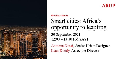 Smart Cities : Africa's opportunity to leapfrog tickets
