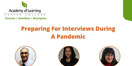 Preparing For interviews During A Pandemic tickets