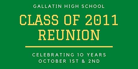 Gallatin High School Class of 2011 Reunion tickets