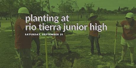 Planting at Rio Tierra Junior High tickets