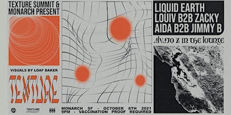 TS w/ Liquid Earth | Louiv b2b Zacky | Aida b2b Jimmy B tickets