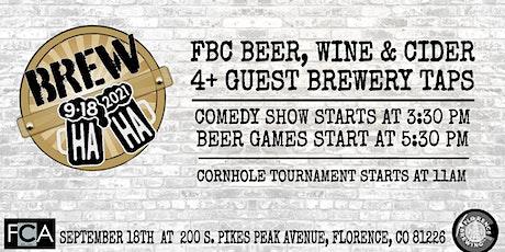 Brew Ha Ha Fundraiser for FCA September 18th at FBC tickets