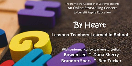 By Heart: Lessons Teachers Learned in School - A Storytelling Concert tickets