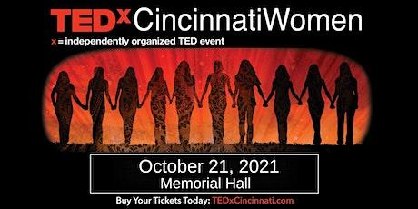 TEDxCincinnati Women Main Stage Event (Live) tickets