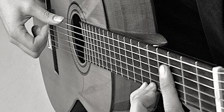 Gitarren Workshop - Konzert-/Spanische Gitarre und Leadbegleitung - Modul 1 Tickets