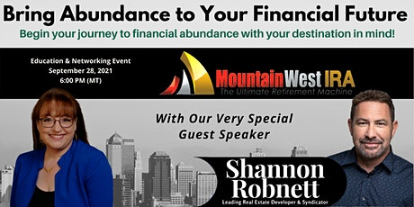 Strategies to Bring Abundance to Your Financial Future - On Zoom tickets