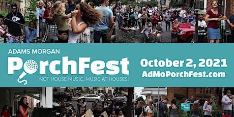 Adams Morgan PorchFest tickets