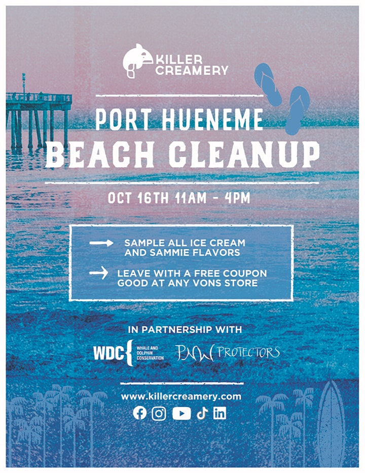 Port Hueneme Beach Cleanup Hosted By Killer Creamery image