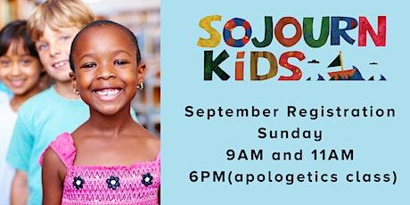 September 26, 2021  Sunday Service Registration tickets