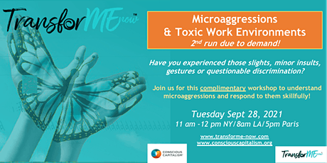 Microaggressions & Toxic Work Environments Workshop (2nd chance!) tickets