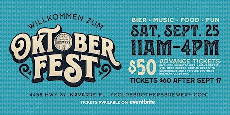 2021 Ye Olde Brothers Oktoberfest tickets