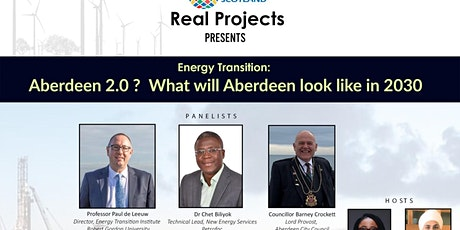 Real Projects Event  - Energy Transition Series tickets