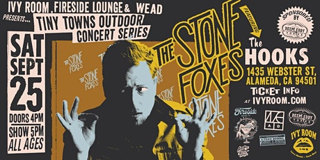 The Stone Foxes + The Hooks tickets