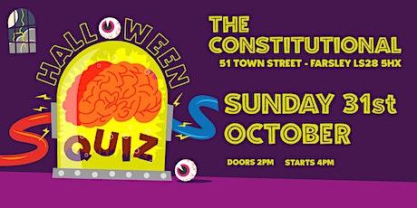 Halloween Quiz tickets