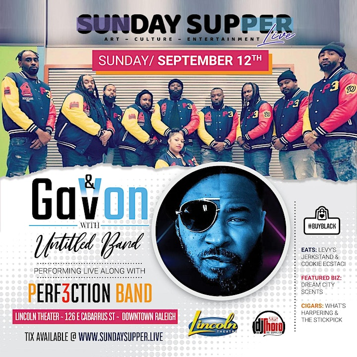 GaVon & Untitled Band feat. Perf3ction Band   Sunday Supper. Live! image