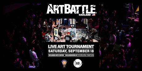 Art Battle Oakland - September 18, 2021 tickets