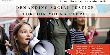 TM Annual Conference: Demanding Social Justice for our Young People tickets