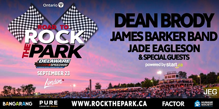 Dean Brody, James Barker Band, Jade Eagleson & Special Guests image