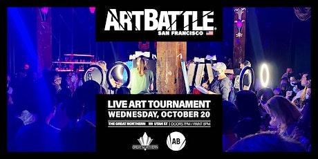 Art Battle San Francisco - October 20, 2021 tickets