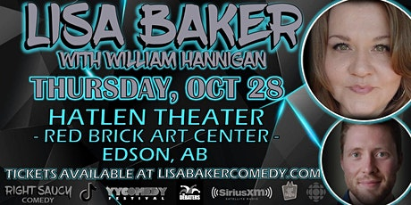 Lisa Baker - Right Saucy Comedy - Edson AB tickets