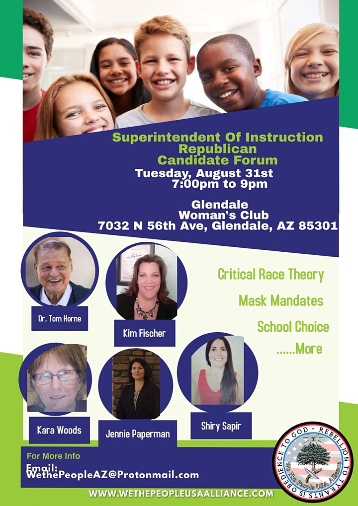 Superintendent of Public Schools Candidate Panel: Critical Race Theory image
