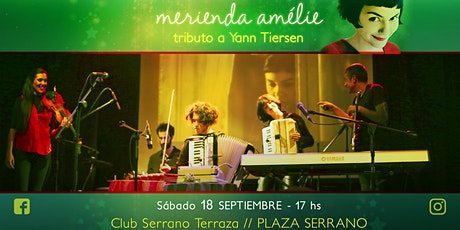 Merienda Amélie en la terraza / Plaza Serrano tickets