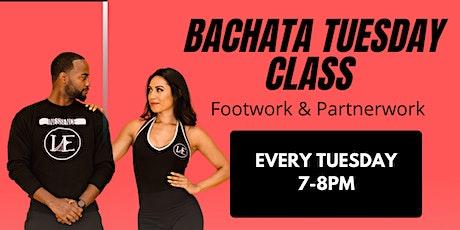Bachata Tuesday Class & Social SEPTEMBER tickets