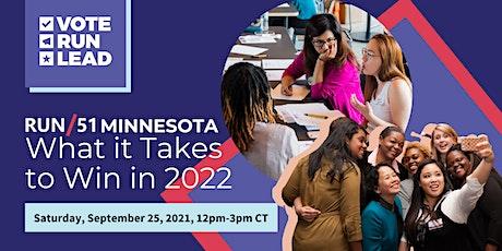 RUN/51 Minnesota: What it Takes to Win in 2022! entradas