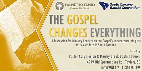 The Gospel Changes Everything Tour GREENVILLE tickets