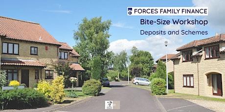 Bite-Size Mortgage Workshop - Deposits and Schemes biglietti