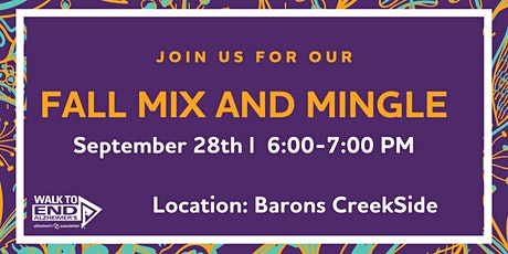 Fredericksburg Fall Mix and Mingle Networking Event tickets