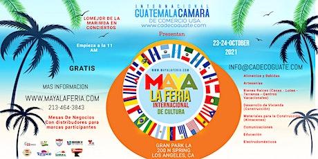 MAYA LA FERIA INTERNACIONAL DE CULTURA tickets